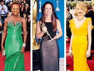 Flashback Friday, Oscars Edition: See What the Stars Are Posting | Vera Wang, Academy Awards, Holly Hunter, Michelle Williams, Viola Davis