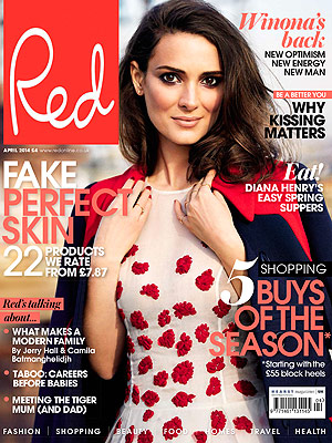 Winona Ryder Red Magazine