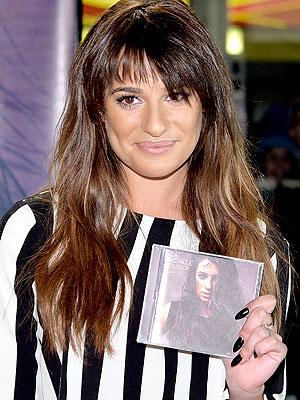 Lea Michele's Bangs