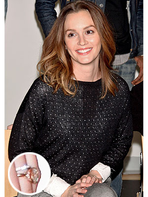 Leighton Meester engagement ring