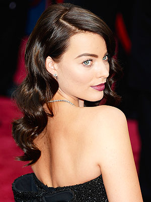 MArgot Robbie brunette