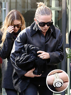 Mary-Kate Olsen engagement ring
