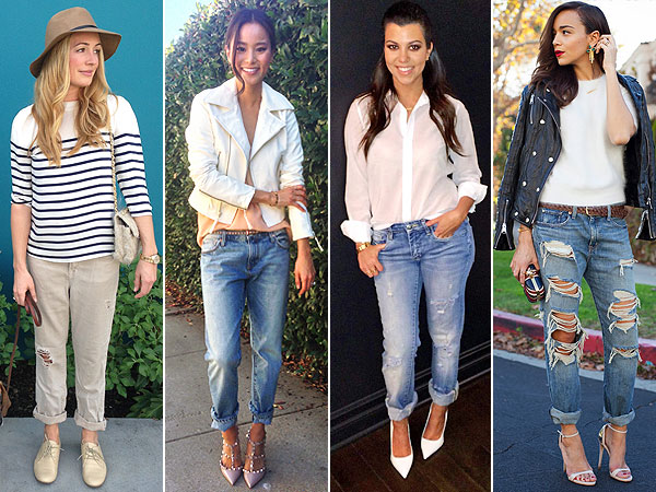 How to Play Up Your Boyfriend Jeans, Courtesy of Our Celeb Style ...