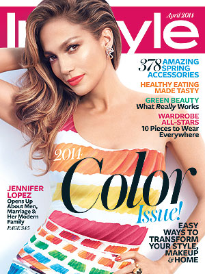 Jennifer Lopez April InStyle