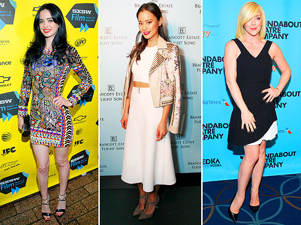 Red Carpet Trend Report: Hollywood Is Prints Crazy Right Now | Jamie Chung, Jane Krakowski, Krysten Ritter