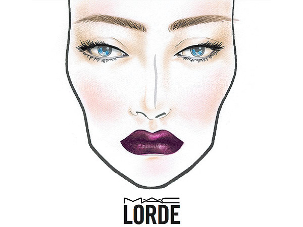Lorde MAC cosmetics collaboration