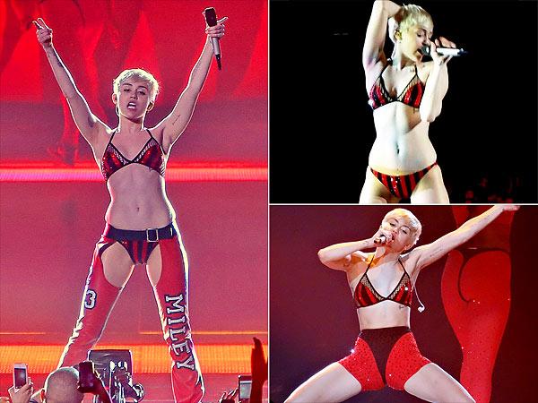 Miley Cyrus underwear