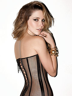 Sophia Bush Wears Skintight See-Thru Corset in Sexy Magazine Spread | Sophia Bush
