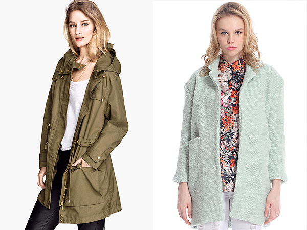 Green Coat shopping inspiration
