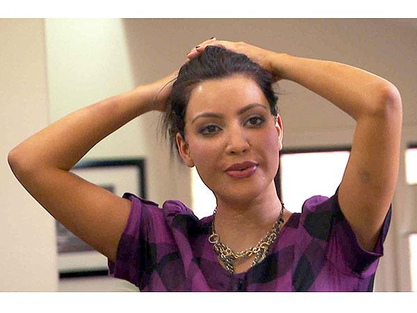 Kim Kardashian Celebrities Undercover