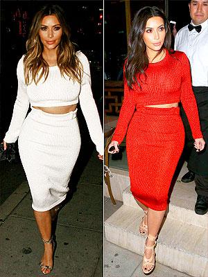 Kim Kardashian Calvin Klein