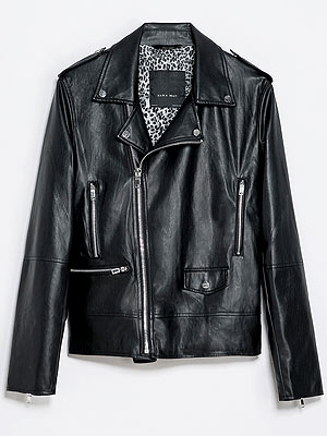 Zara men's moto jacket