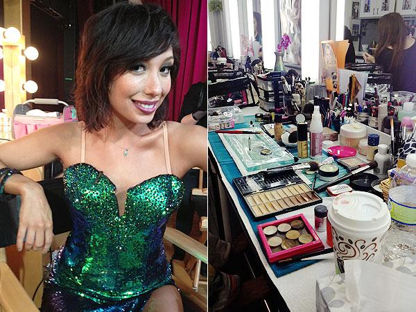DWTS makeup