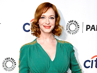 Christina Hendricks Wears One of L'Wren Scott's Dresses to Mad Men Event