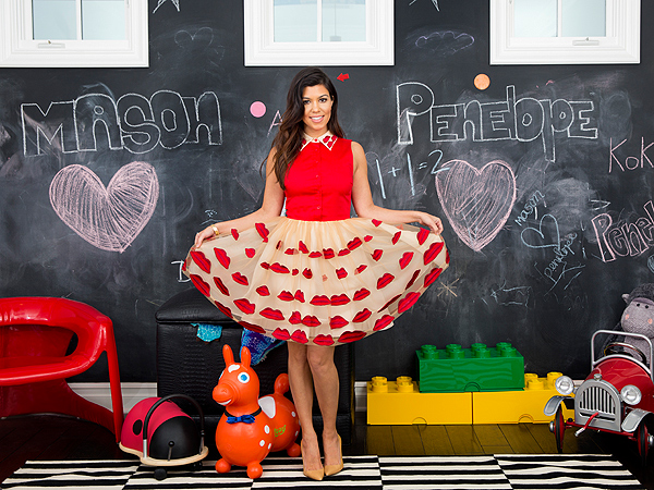 kourtney kardashian 600x450 Kourtney Kardashian Creates Magical Bedrooms for Her Kids