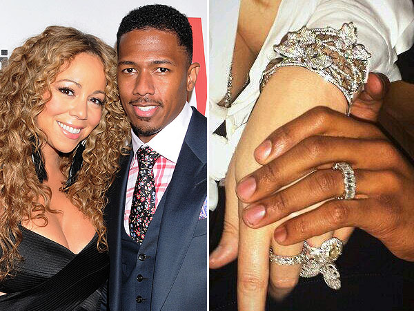 Mariah Carey Birthday Bling Nick Cannon