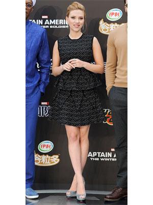 Scarlett Johansson Captain America