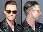 Adam Levine Shaves Half His Head – Check Out Pal Blake Shelton's Reaction