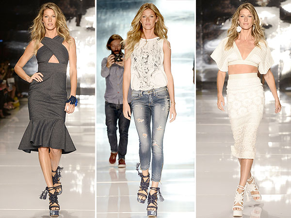 Gisele Bundchen Brazil Fashion Week