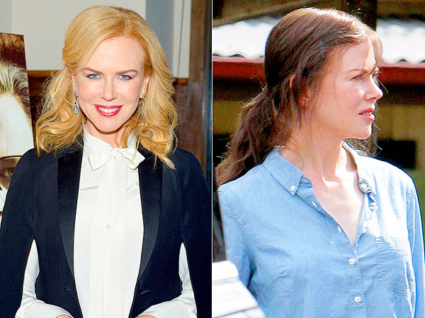 Nicole Kidman brunette