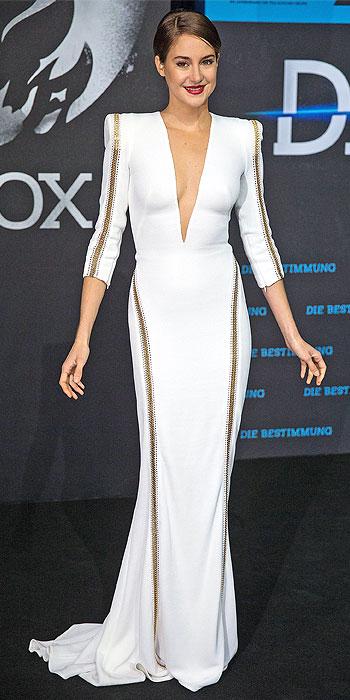 Shailene Woodley Berlin Divergent premiere