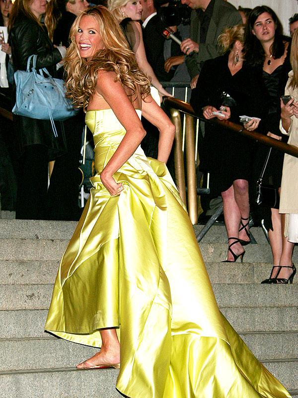 Elle Macpherson Calvin Klein Collection Met Gala 2005