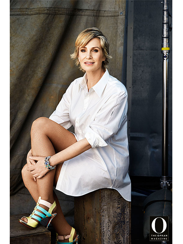 Jane Lynch O Magazine
