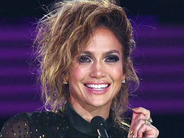 Jennifer Lopez American Idol hair