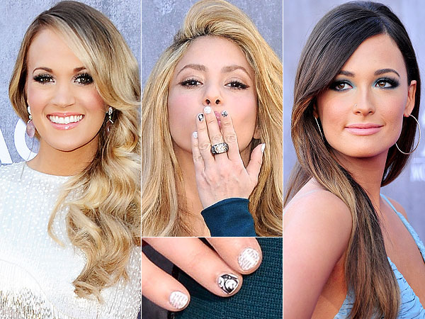 Carrie Underwood, Shakira and Kacey Musgraves ACMs
