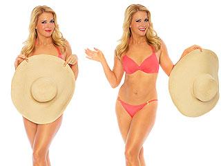 Melissa Joan Hart Shows Off 40-Lb. Weight Loss in Sexy Pink Bikini   Melissa Joan Hart