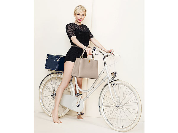 Michelle Williams Louis Vuitton ads