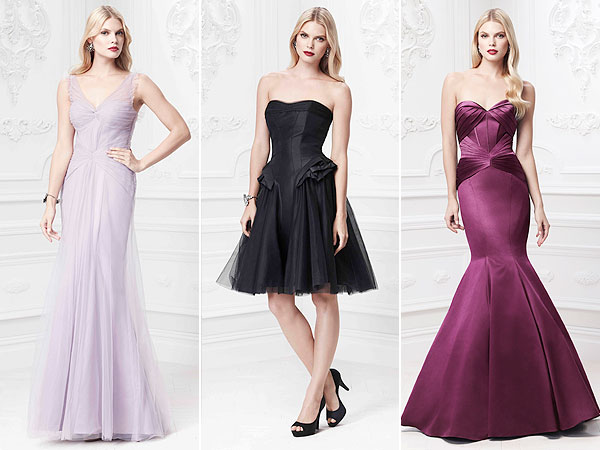 Zac Posen for David's Bridal occasion dresses
