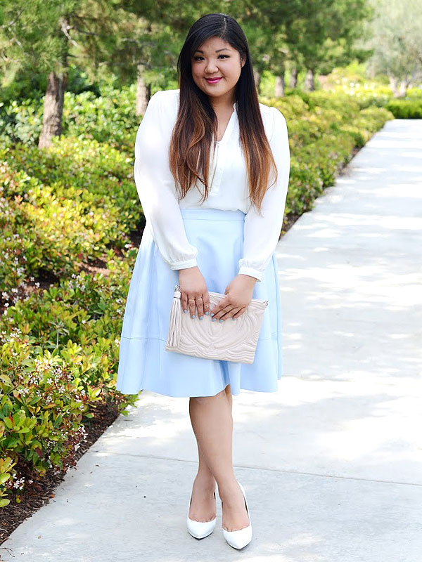Allison Teng plus size blogger