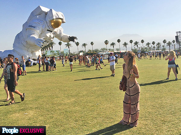 Audrina Patridge Coachella photos