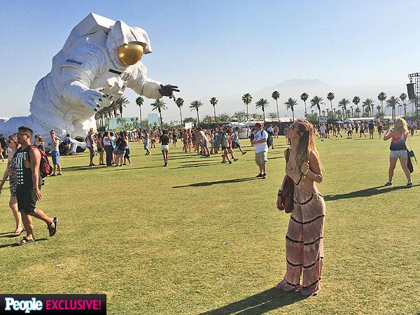 Audrina Patridge Coachella photos