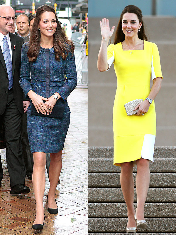 Kate Middleton Royal Tour Style