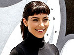Ooh La La! Kim Kardashian Channels Audrey Hepburn in All-Black and Bangs