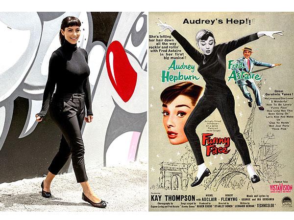 Kim Kardashian Audrey Hepburn