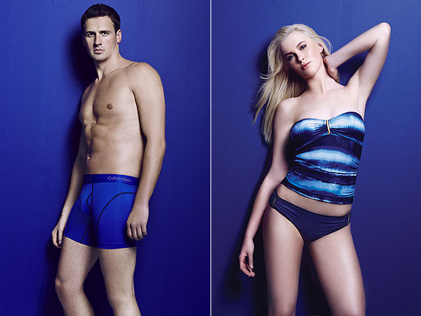 Ryan Lochte Ireland Baldwin model