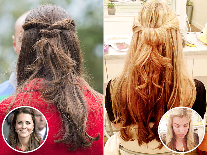 We Tried It: Kate Middleton Royal Tour Hair