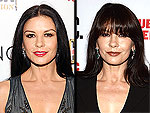 Catherine Zeta-Jones Has Some Serious Bangs! Check Out Her New 'Do