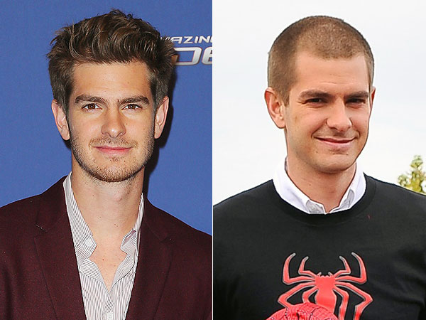 Andrew Garfield Shaved Head