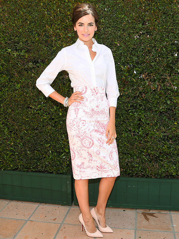 Camilla Belle Vogue lunch
