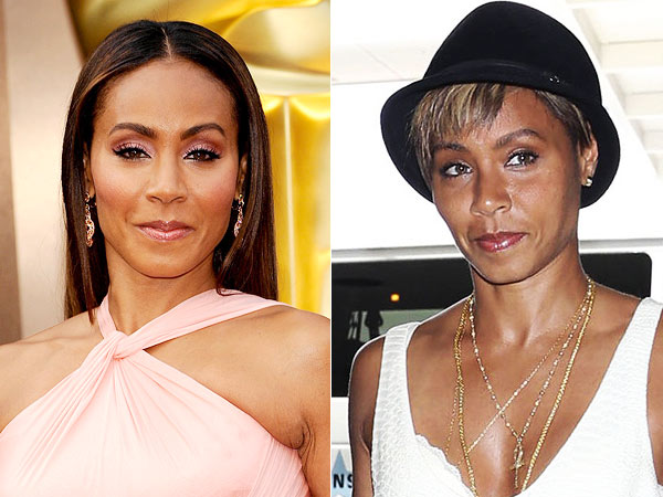Jada Pinkett Smith pixie cut