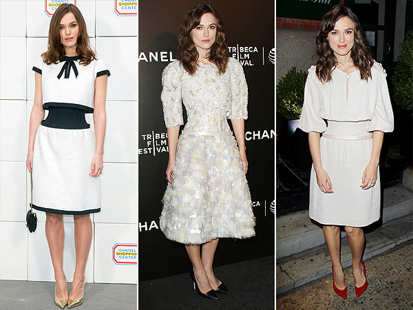 Keira Knightley Chanel dresses