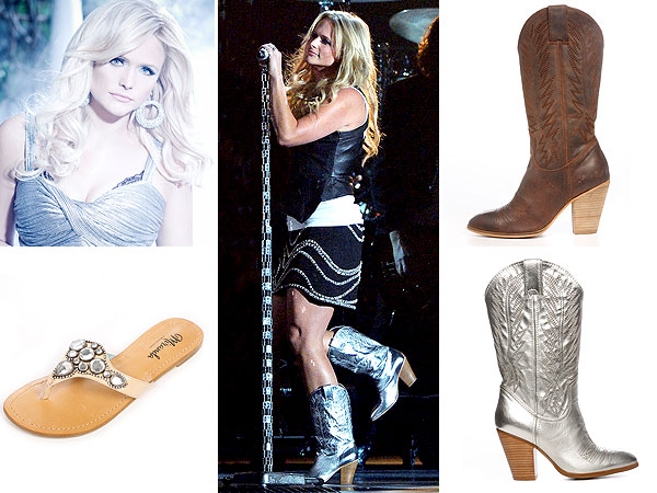 Miranda Lambert boots line