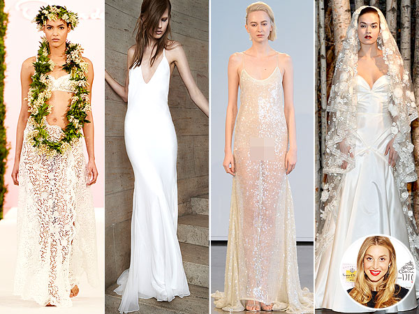 Whitney Port Wedding Dresses