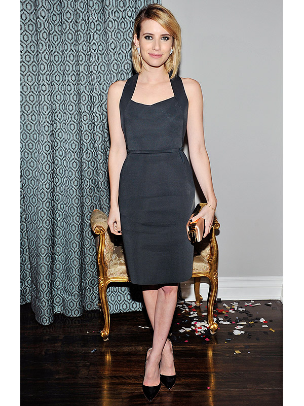Emma Roberts LBD Best Dressed