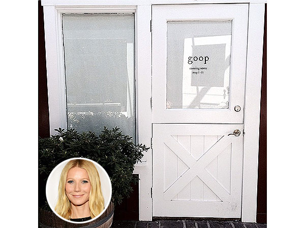 Gwyneth Paltrow pop-up store