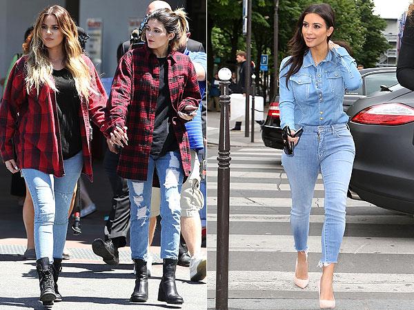 Khloe Kardashian, Kylie Jenner and Kim Kardashian